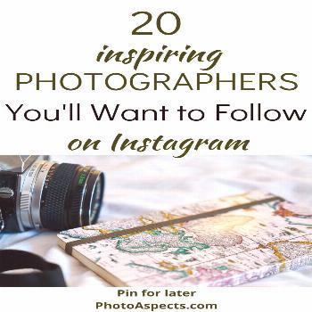 20 Inspiring Photographers You'll Want to Follow on Instagram Looking for some fresh inspiration?