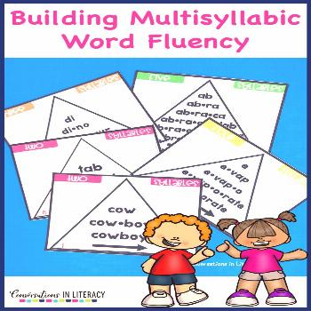 3 Things to Know for Teaching Multisyllabic Word Fluency - Conversations in Literacy Word Triangles