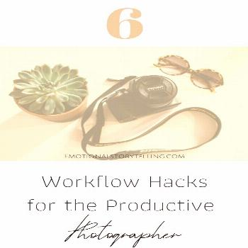 6 Workflow Hacks for the Productive Photographer Do you find yourself setting realistic to-do lists