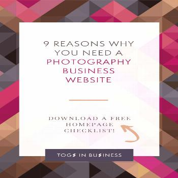 9 Reasons why you NEED a photography business website! 9 Reasons why you NEED a photography busines
