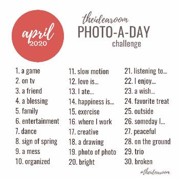 April Photo-A-Day  Join us for a fun Instagram Challenge…our April Photo of the Day Challenge! We