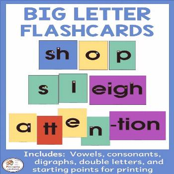 Big Letters and Sound Flashcards complement Jolly Phonics How can I use Big Letter Sound Cards? The
