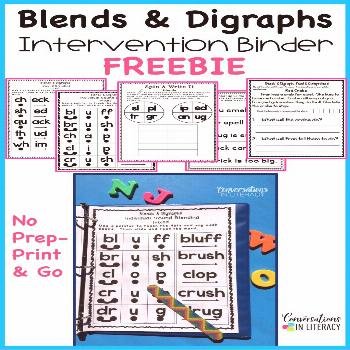 Blends and Digraphs Activities Blends and Digraphs activities for fun learning in the kindergarten,