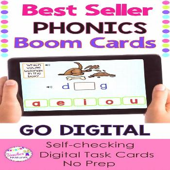 Boom Cards BOOM CARDS | Boom Cards first grade | Boom Cards second grade | Technology in the Classr