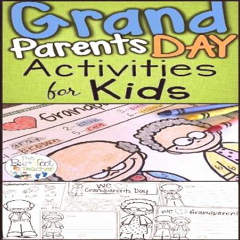 Check out these cute Grandparents Day activities for your Preschool, Kindergarten, and even First G
