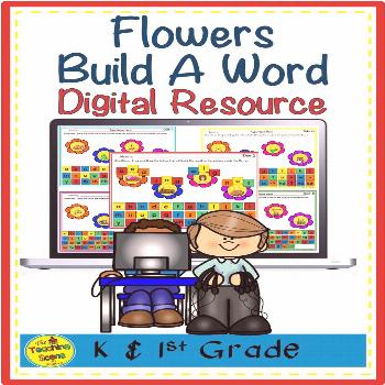 Digital Flowers Build A Word for Google Slides Are you looking for a digital flower themed phonics