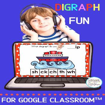 Digraph Activities For Google Classroom™ Your students will absolutely LOVE these beginning and e