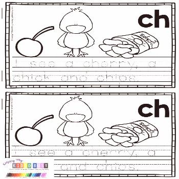 Digraph Books Phonics in kindergarten and first  Digraph Books  Phonics in kindergarten and first