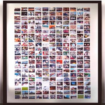 Diy Huge Photo Frame  •  Free tutorial with pictures on how to make a frame / photo holder in 1 s
