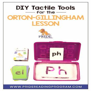 DIY Tactile Tools for the Orton-Gillingham lesson Here are a few tracing and tactile tools, that ar