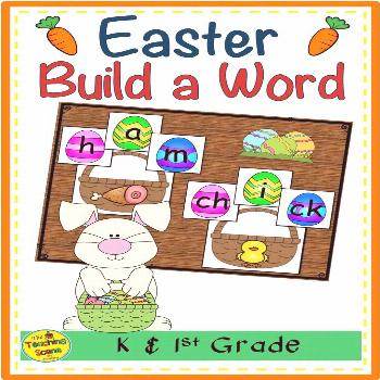 Easter Build a Word Phonics Center Do you need a holiday build a word literacy and phonics activity