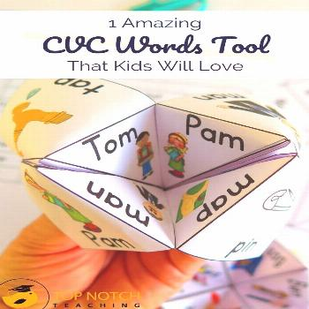 Editable Sight Word Games What's your favorite tool for teaching CVC words? There is one tool my
