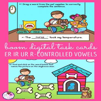ER IR UR R Controlled Vowels BOOM Digital Task Cards Are you looking for digital activities to use