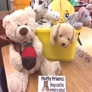 Fluffy Friends for Reading  My kids read their books... to their  FLUFFY  FRIENDS   @1stgradefirewo