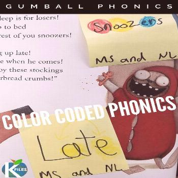 Gumball Phonics™ - The K Files Are you looking for a way to help your young readers remember spel