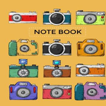 Hand Drawn Photographer Notebook: Photographer Gifts for