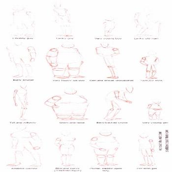 HOW TO DRAW BODY SHAPES: 30 Tutorials For Beginners - Bored Art        COMMENT DESSINER DES FORMES