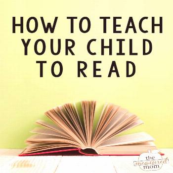 How to teach a child to read - The Measured Mom This helpful video gives 8 helpful tips to show you