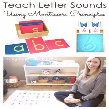 Ideas from Montessori education about the best order to teach letters of the alphabet; includes res