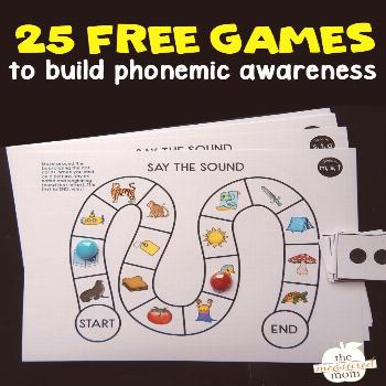 If you have learners who struggle to isolate beginning sounds, these free phonemic awareness games