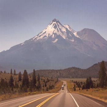 It's breathtaking to see how mount shasta rises abruptly and stands nearly 10,000 ft (3,0... -