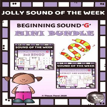 Jolly Sound of the Week 'G' -- Mini Bundle This mini bundle has 2 different resources. Both resourc