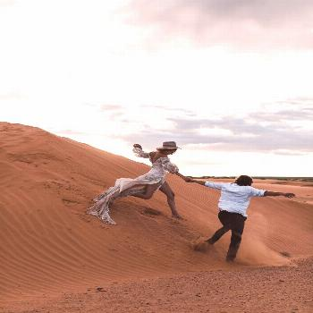 Keith + Brianna Madia's Elopement-Style Vow Renewal in the Dunes | Part 2 — Adventure Wedding + E