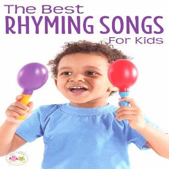 Kids love these fun preschool rhyming songs. Perfect for circle time & transitions, these songs wil