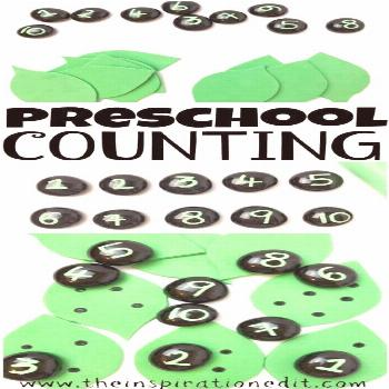 Leaf Number Matching Activity · The Inspiration Edit Leaf Number Matching Activity Today I am shar