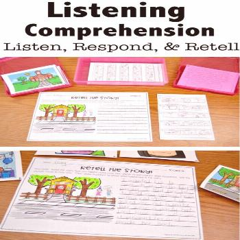 Listening Comprehension: 5 Tips for Identifying Deficits - Keeping Up with Mrs. Harris Listening Co