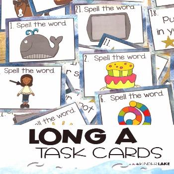 Long O Activity Help your students practice all the ways to spell long a with these task cards. Stu