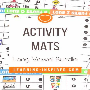 Long Vowel Silent E Word Work Activities Bundle Are you looking for low prep literacy centers? Thes