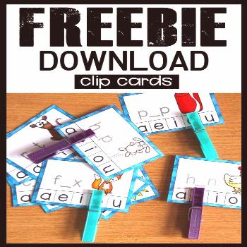Looking for free phonics activities kindergarten and first grade? Download these... -