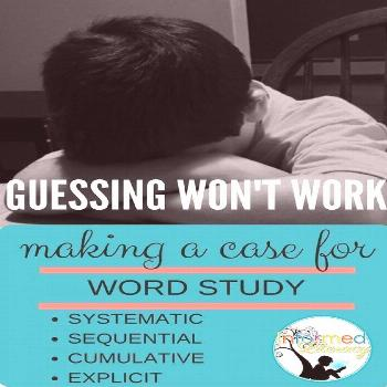 Making a Case for Word Study Instruction - Informed Literacy This post outlines the importance of f