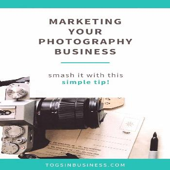 Marketing your photography business - smash it with this simple tip This seriously simple photograp