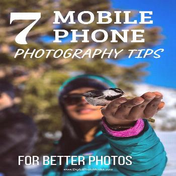 Mobile phone photography tips for learning to take better photos with your smartphone. Get your bes