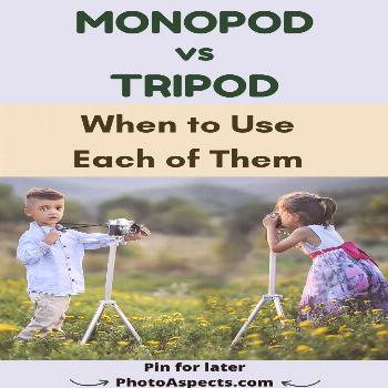 Monopod Vs Tripod and When to Use Each of Them Learn about differences between monopod and tripod (