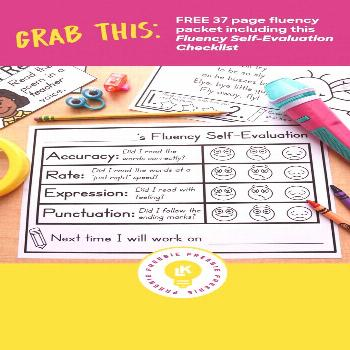 My Recipe for Reading: The Phonics Poetry Station FREEBIE ALERT! Free 37 page fluency packet includ