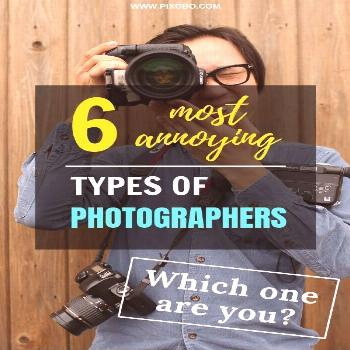 Not all photographers are bad but there are certainly some types that annoy us. Here you can find o