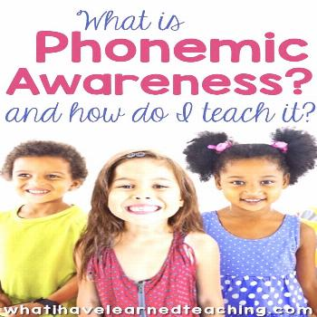 Phonemic Awareness Phonemic Awareness is an important early reading skill for preschoolers and kind