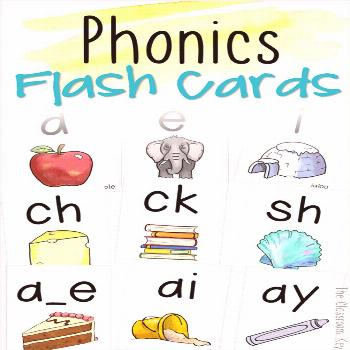 Phonics Flash Cards - The Classroom Key Phonics Flash Cards for practicing phonemes and graphemes (