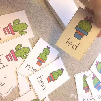 Phonics Games for End of the Year Phonics Review These card games are perfect for extra reading pra