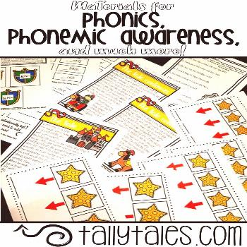 Phonics Materials! Find great materials for hands-on instruction and learning with phonics, phonemi