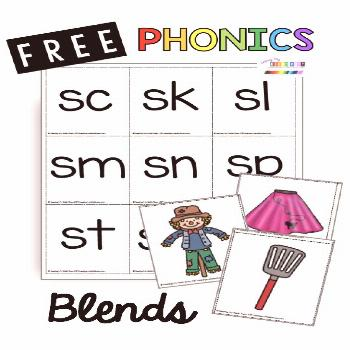 PHONICS PRINTABLES Complete units to teach all the kindergarten phonics standards - print free reso