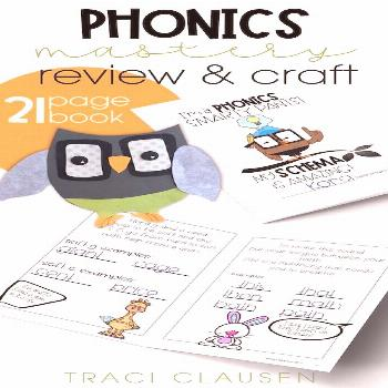 PHONICS Smarty Pants - First Grade Phonics Review • Traci Clausen Highlighting phonic skill maste