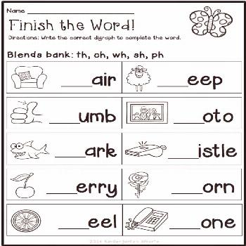 Phonics Worksheets Special education Special education   phonics worksheets, school objects workshe