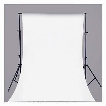 Pure White Vinyl Backdrop Collapsible Background Photo