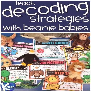 Reading Strategy Goals with Beanie Baby Friends - The K Files My students love our beanie baby Read
