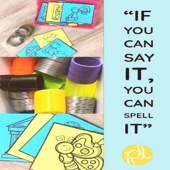 Say and Spell! Add these free phonics cards to practice tricky sound spellings! Perfect for small g