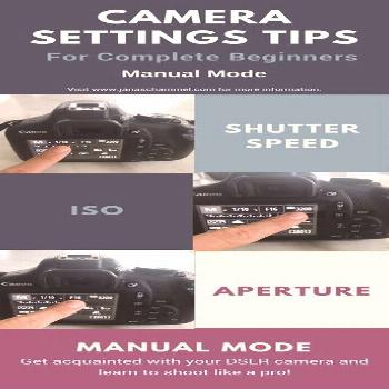 Settings tips for beginners using a DSLR camera. Specifically using the Canon Rebel T6 camera in ma